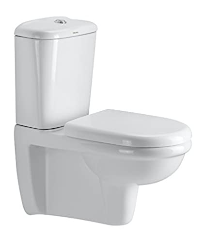 Cera Croft 3156 Extended Wall Hung European Water Closet White Two Pieces