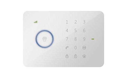 Chuango G5 DIY Wireless Home Security GSM Burglar Alarm & Touch Access Pad System, US Sim Card Included, Compatible with Android 4.4