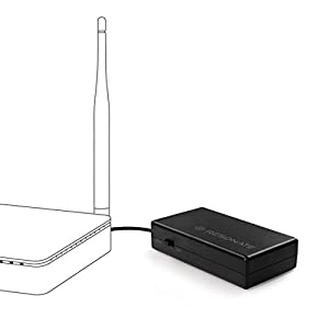 RESONATE RouterUPS CRU12V2A – Up to 4 Hours Power Backup for Wi-Fi Router, FTTH, ONT Routers. Un-Interrupted Internet as…