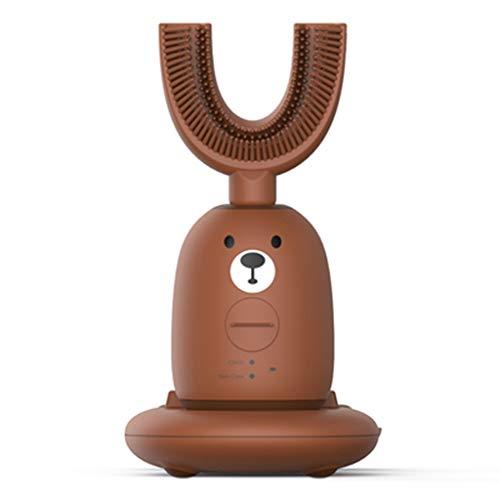 DWW Nuevo Cepillo de Dientes eléctrico automático Cepillado de 360 Grados Que Hace Espuma en Forma de U Cepillo de...