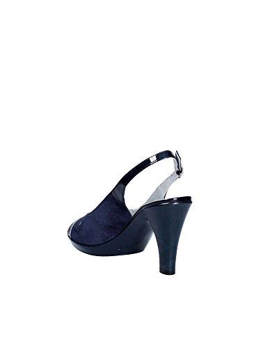 E8174 à Hauts Femmes SHOES GRACE Sandales Bleu Talons SF5qwx