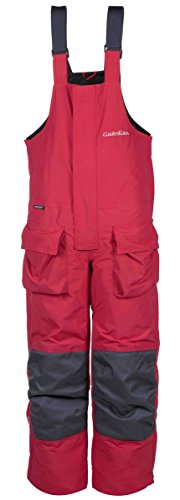 Striker Ice Guardian Womens Surefloat Ice Fishing Bibs - Red (Red, 12)