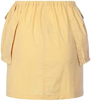 JACQUEMUS Luxury Fashion Femme 201SK0720123260 Jaune Polyamide Jupe | Printemps-été 20
