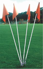 Step Down Soccer Corner Flags - Set of 4