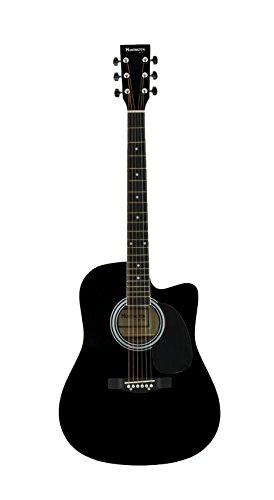 Huntington GA41C-BK Acoustic Cutaway Guitar 41-Inch, Black by Huntington