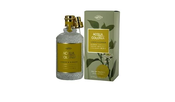 Amazon.com : 4711 ACQUA COLONIA by 4711 Perfume for Women (LEMON & GINGER EAU DE COLOGNE SPRAY 5.7 OZ) : Beauty