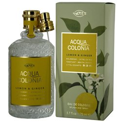 4711 ACQUA COLONIA by 4711 Perfume for Women (LEMON & GINGER EAU DE COLOGNE SPRAY