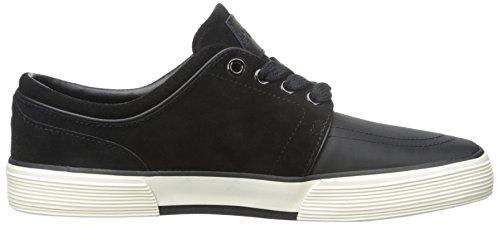Polo Ralph Lauren Faxon la zapatilla de deporte de la manera baja Black