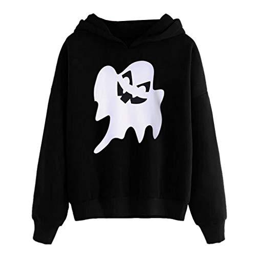 Hello Kitty Woman Deluxe Halloween Costumes - KLFGJ Women Hoodie Pullover for Halloween