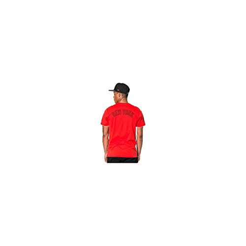 A NEW ERA T-Shirt MLB New York Yankees Nights All Pop Rosso Formato: S (Small)