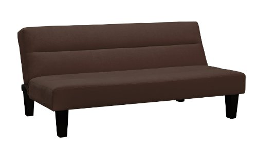 Dorel Home Products Kebo Futon, Chocolate Brown