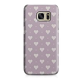 Samsung S7 Case Heart Love Pattern Pattern Great For Girls Durable Metal Inforced Light Weight Samsung S7 Cover Wrap Around 98