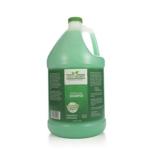 Green Groom Clean Shampoo, 1 Gallon, Green
