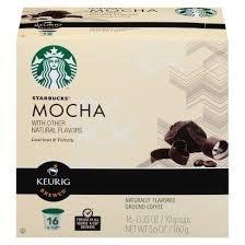 Starbucks Flavored Coffee Keurig K cups