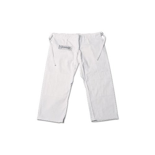 ProForce Gladiator Judo Pants - White Size 2