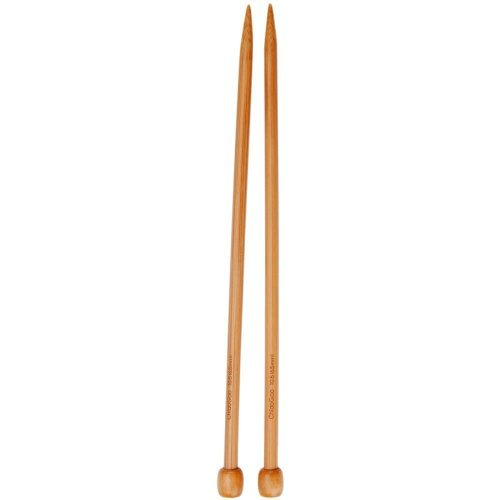 ChiaoGoo Single Point 13-inch (33cm) Wooden Knitting Needle; Size US 19 (15mm) 1033-19