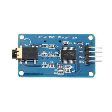 Supports Sdhc Cards - Wemos YX6300 UART TTL Serial Control MP3 Music Player Module Support SD/SDHC Card for Arduino/AVR/ARM/PIC 3.2-Electronics Module Board for Arduino -5.2V 1 x YX6