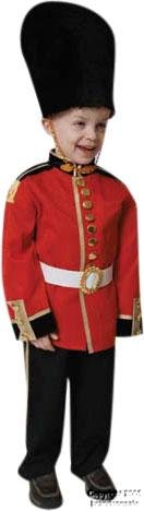 Costumes For All Occasions Up206Sm Royal Guard Sm 4 To 6 from Dress Up America