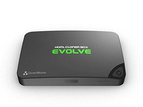 HDML-Cloner Box Evolve, Capture game and streaming videos to the USB flash drive/TF card/PC, no video split, two HDMI inputs, remote control, 4K supported, CEC supported.