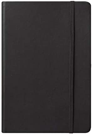 Small Eccolo World Traveler Simple Journal Collection Black 4 by 6-Inch