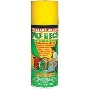 Amazon.com: Mo Deck Non Stick Mower Blade / Deck Spray 11