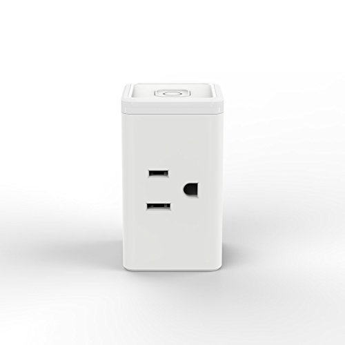 TP-Link Smart Plug Mini, No Hub Required, Wi-Fi, Works with Alexa, Control your Devices from Anywhere, Occupies Only One Socket (HS105)