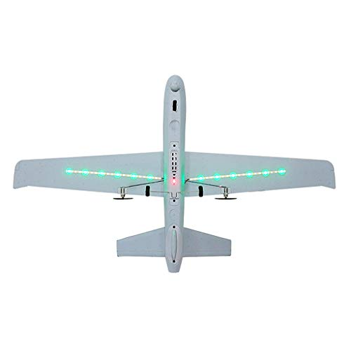 DIY RC Airplane Eemote Control --Z51 2.4G EPP 660mm Wingspan Built-in stability Gyro System/EPP Anti-collision Material --With Light Bar DIY RC Airplane RTF(Install Light Bar fly at night) Cool by COLOR-LILIJ (Image #2)