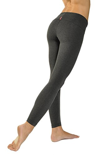 Contour Roll Down Ankle Legging (Dark Charcoal) ()