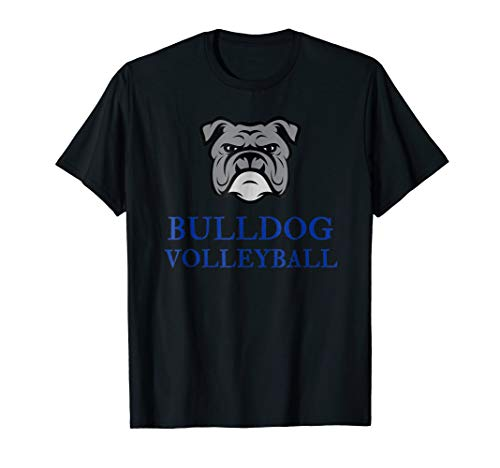 Bulldog Volleyball T-Shirt by Hello Fun (Hello Bulldog)