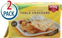 Schar Table Crackers Gluten Free -- 7.4 oz Each / Pack of 2