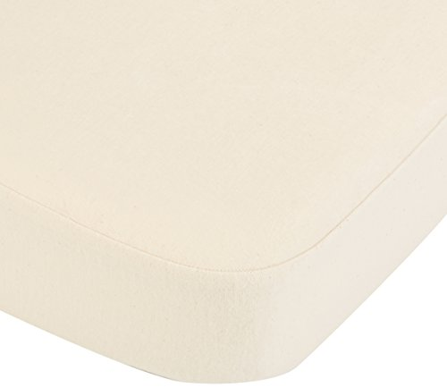 Coyuchi 1017479 Organic Mattress Protector, Queen, Natural