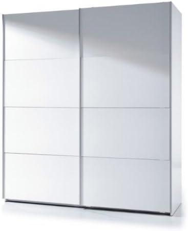 AMF Madrid para Puerta corredera Armario 180 cm Blanca Brillante: Amazon.es: Hogar
