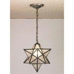 12 Inch W Moravian Star Pendant Ceiling - Pendant Star Moravian