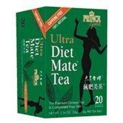 Diet Ultra Mate Tea - Prince Gold Ultra Diet Mate Caffeine Free 100% Natural Tea (20 Tea Bags Net Wt 1.26 OZ)