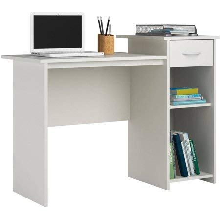 Mainstays Student Desk White + Cleaning Cloth by Mainstay