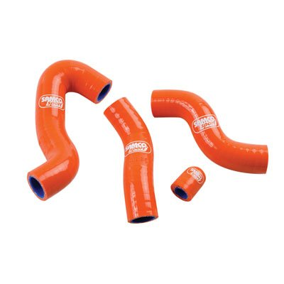 SamcoSport Radiator Hose Kit with Thermostat Bypass Orange - Fits: KTM 450 XC-W 2012-2016 by SamcoSport (Image #1)