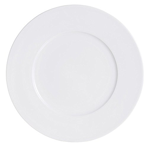 (Arcoroc R0802 Candour White 10.5 In. Banquet Plate - 12 / CS)