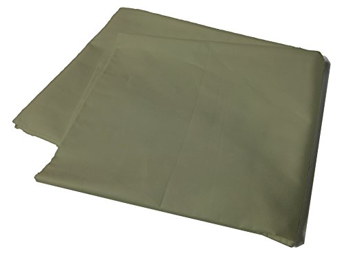 Body Pillow Cover Pillowcase, 400 Thread Count, 100% Cotton, 20 x 54 Non-Zippered Enclosure, 6 Colors Available (Sage)