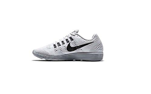 Zapatillas Running Nike Hombres Lunartempo Blanco / Negro-lobo / Gris-gris Oscuro - 9 D (m) Us