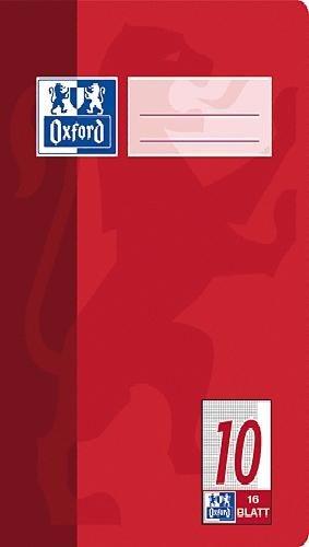 Heft A5 Oxford Lin.10 16Blatt kariert SC-5400359