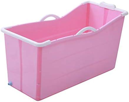 インフレータブルバスタブアダルト折りたたみ浴槽風呂バレル大人、厚いプラスチックバケツの浴槽