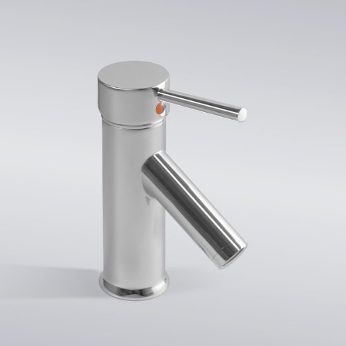 Jduskfl Kitchen Faucet Net Faucet Bathroom Faucet Euro Modern Contemporary Durable Solid Brass Basin Faucet Chrome Bathroom Vanity Sink Lavatory Faucet,Chrome,Multi
