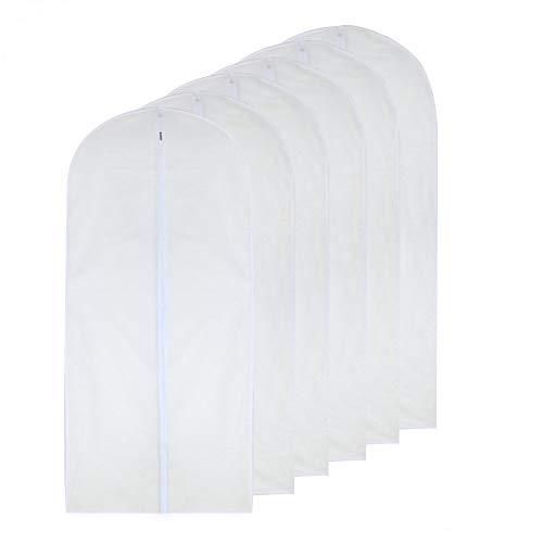 Garment Bag Clear 24'' x 48'' Long Suit Bag Dust Moth Proof