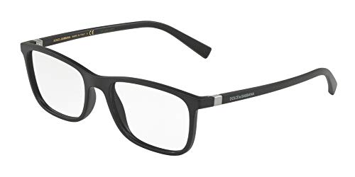 Dolce & Gabbana Eyeglasses D&G DG5027 DG/5027 2525 Mt Black Optical Frame 55mm