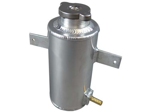 Aluminum Coolant Overflow Tank - Aluminum Coolant Overflow Tank Works for Many cars