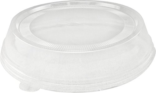 """Solo Foodservice LC9TKN-0090 Polystyrene Plate Lid, 9"""", C..."""