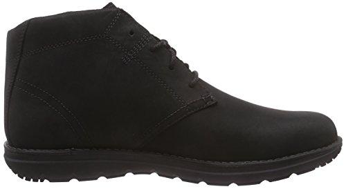 Timberland Mens Edgemont Chukka Boots Svart Nubuck