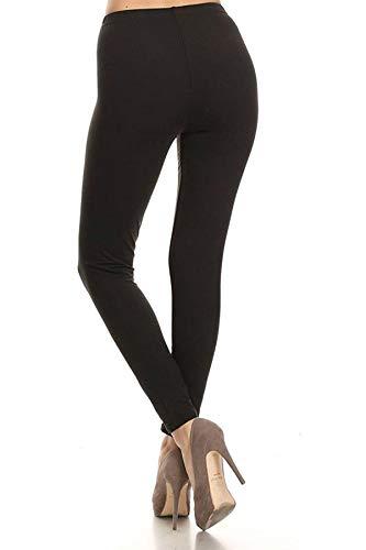 Leggings Depot High Waisted Leggings -Soft & Slim - Solid Colors & 1000+ Prints