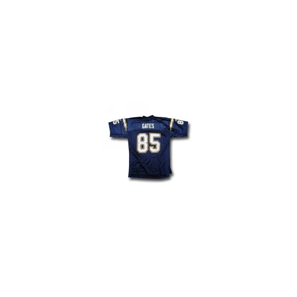Antonio Gates #85 San Diego Chargers NFL Replica Player Jersey (Team Color) (X Large)