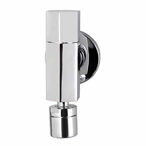 Aawang Bathroom Vanity Sink Faucet Lavatory Tap Washing Machine Faucet 360° Rotary Nozzle Mop Pool Faucet Chrome